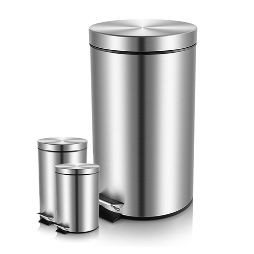 malmo-b4300-set-of-3-brushed-stainless-steel-round-step-trash-can-with-lid-combo-review