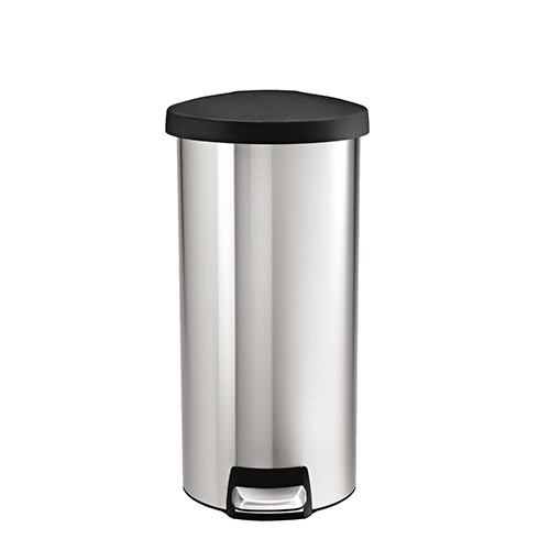 simplehuman-round-step-stainless-steel-trash-can-review