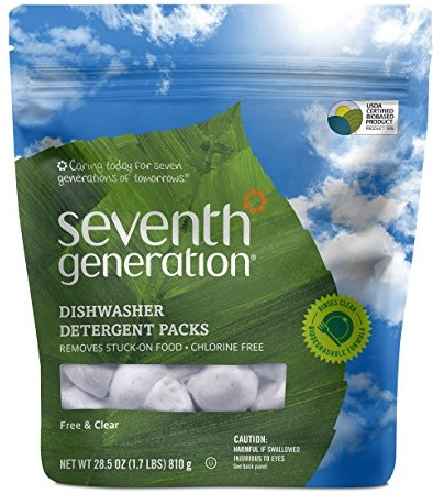 Seventh Generation Auto Dish Packs